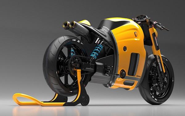 摩托车概念设计集赏-顺德外观设计